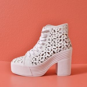 Jeffery Campbell JC Play Daisy Cut Out Shoes
